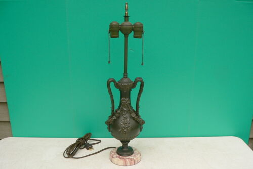 Antique Vtg 1920s French Table Lamp Base - very decorative