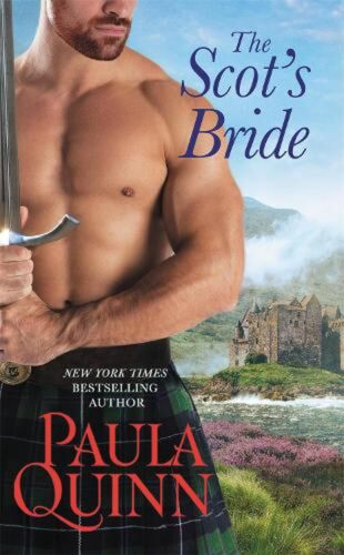 Scot's Bride by Paula Quinn Paperback Book Free Shipping!