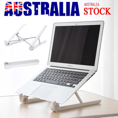 Adjustable Folding Laptop Table Portable Notebook Desk Stand Mount Holder Tray
