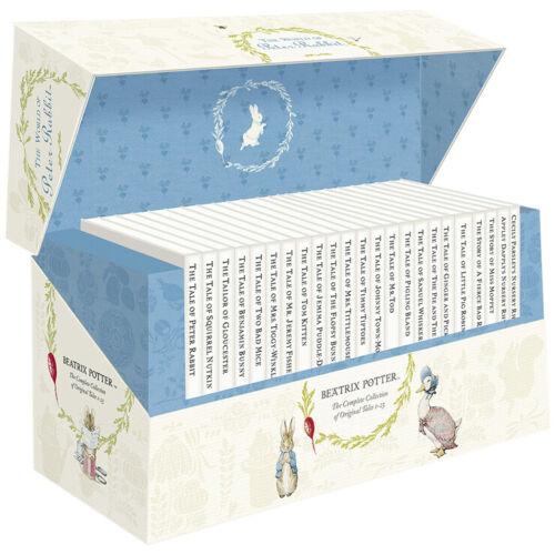 The World of Peter Rabbit 23 Book Collection Beatrix Potter *FREE AU SHIPPING!*