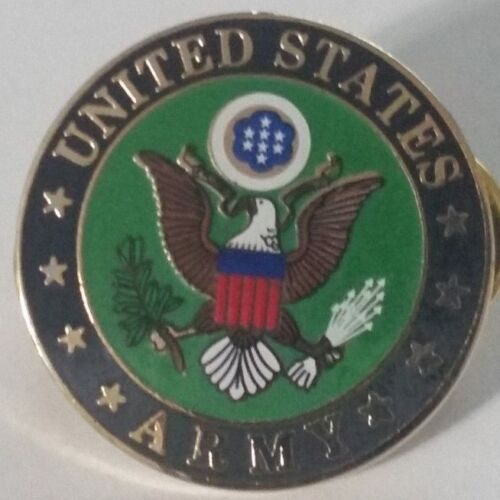 US ARMY  Pin      1 inch pin    Double Post styleArmy - 66529