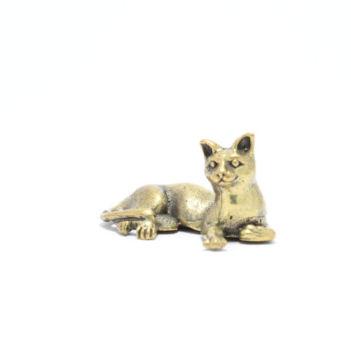 Thai Amulet statue Siamese Cat Wealth Rich Lucky Attract Charm.