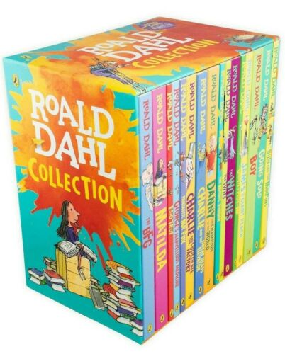 NEW Roald Dahl Collection 15 Paperback Books Kids Boxed Set *Free AU Shipping!*