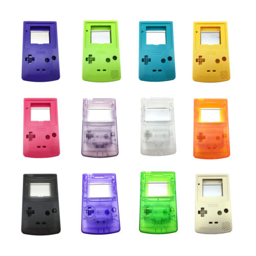 GAME BOY COLOUR REPLACEMENT CASE SHELL for Gameboy Color GBC Casing AUS SELLER