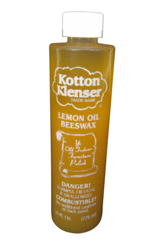 HOME RENTAL RESTORATION KOTTON KLENSER ANTIQUE WOOD PRESERVATIVE POLISH 10 OZ