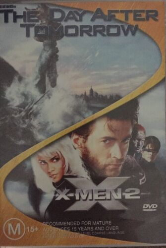 The Day After Tomorrow  / X-Men 02 (DVD, 2005, 2-Disc Set) 🇦🇺Brand New Sealed