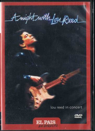 A night with Lou Reed. Lou Reed in concert