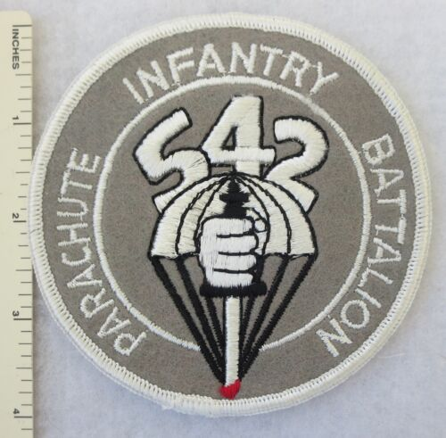 542nd PARACHUTE INFANTRY BATTALION US ARMY PATCH Made for COLLECTORS & VETERANSArmy - 66529