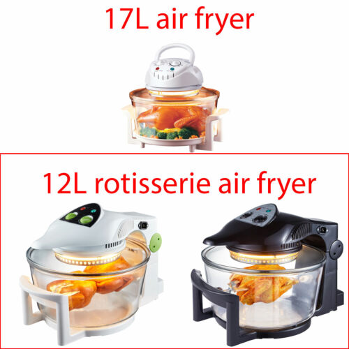 Super Chef 12L Air Fryer Rotary Rotating Rotisserie Convection Oven Multi Cooker <br/> Full accessories included, SAA Australian Certified