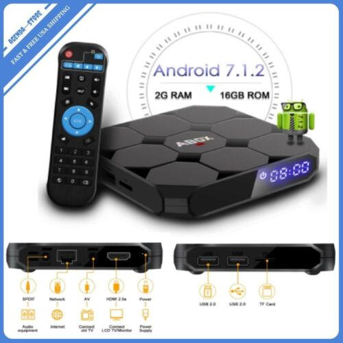 2018 Ultra HD 4K HDR UHD TV BOX HDMI2 KODI ROKU Streaming Media Support ABOX