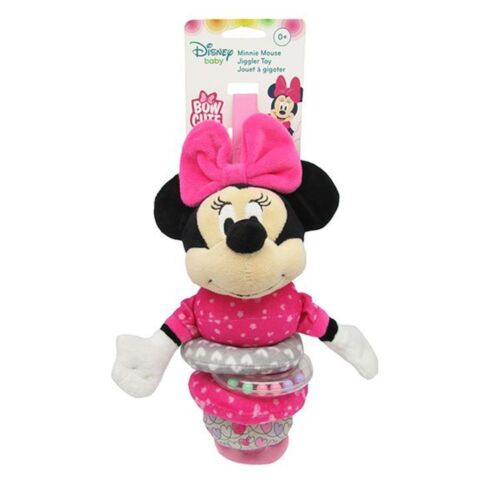 NEW Disney Baby Minnie Mouse Cute Bow Jiggler Rattle *FREE AU SHIPPING!*