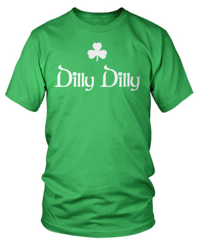 Dilly Dilly Clover Shamrock St. Patrick's Day Irish Pride Bud Crown Beer Shirt