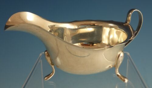 E. Viners English Sterling Silver Sauce Boat #201K (#2142)