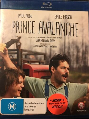Prince Avalanche (Blu-ray, 2014) Fast Post!