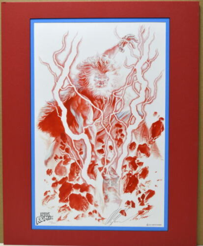MIGHTY THOR Ltd Ed Pro Matted PRINT HAND SIGNED/NUMBERED #137/200 ALEX ROSS COA