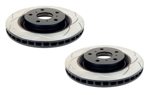 2 x DBA T2 Slotted Rotor FOR MAZDA RX 7 FC DBA636S