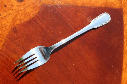 ERCUIS Perles Silver Plated Serving Fork