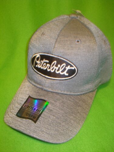 PETERBILT HAT  CHAMBRAY   FITTED TRUCKERS CAP  FREE SHIPPING IN U.S.A.   31791e6beaf9