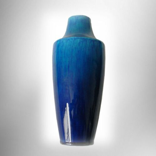 Paul Milet Sevres France art vase in turquoise colors - pre 1920 FREE SHIPPING