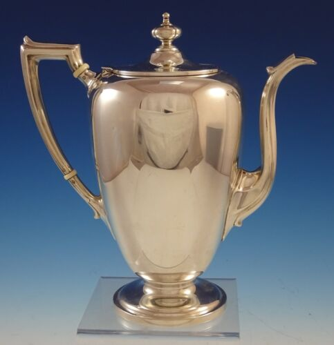 Pointed Antique by Reed Barton Dominick Haff Sterling Silver Coffee Pot (#2501)