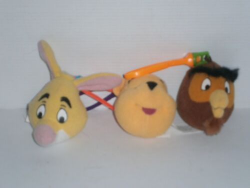 MWP1 McDonald's 3 DIFF. Winnie The Pooh Happy Meal Toys