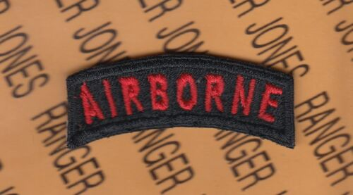 US Army SPECIAL FORCES Black /& Gold C//E tab arc patch