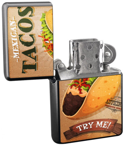 FISH TACOS Half Curve PREMIUM WIDE Red Swooper Flag Mexican Food Spices Salsa