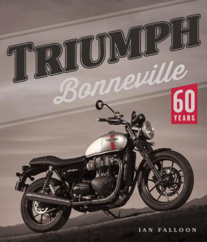 Triumph Bonneville: 60 Years by Ian Falloon Hardcover Book Free Shipping!