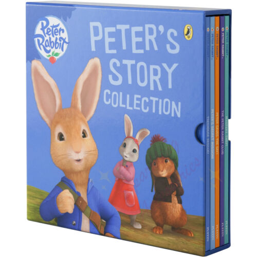 *NEW* Peter Rabbit Movie Super Storybooks Peter's Story Collection 5 Books Set!