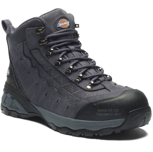 NEW MENS DICKIES WATERPROOF SAFETY WORK BOOTS SHOES HIKER COMPOSITE TOE CAP SIZE <br/> Composite Toe Cap & Composite Midsole S3 Metal Free