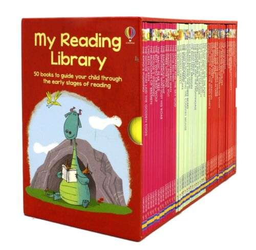 NEW Usborne My Reading Library 50 Books Box Set Collection *FREE AU SHIPPING*
