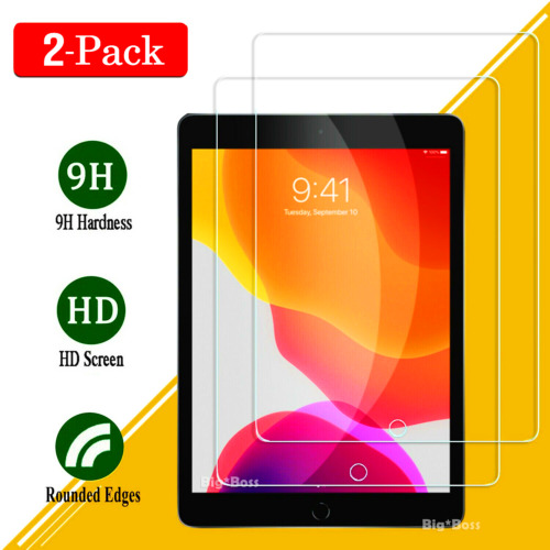 2X Tempered Glass for Apple iPad 7th Gen 2 3 4 5 6 5th 6th Gen Screen Protector