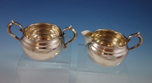 Old French by Gorham Sterling Silver Sugar and Creamer Set 2pc #909/#910 (#2572)