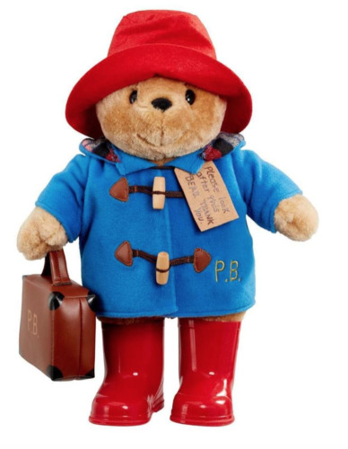 NEW Paddington Bear with Boots and Suitcase Large 34cm Plush Toy *FREE AU POST!*