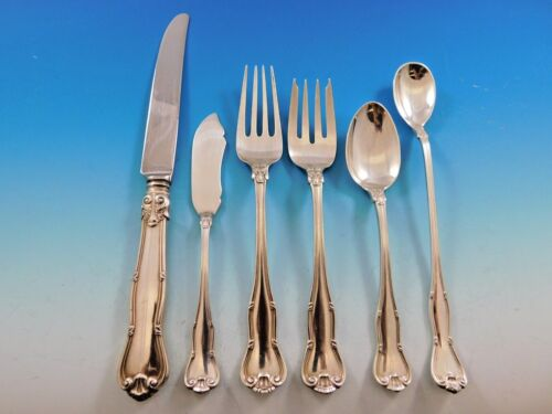 Provence by Tiffany & Co. Sterling Silver Flatware Set for 8 Service 51 Pieces