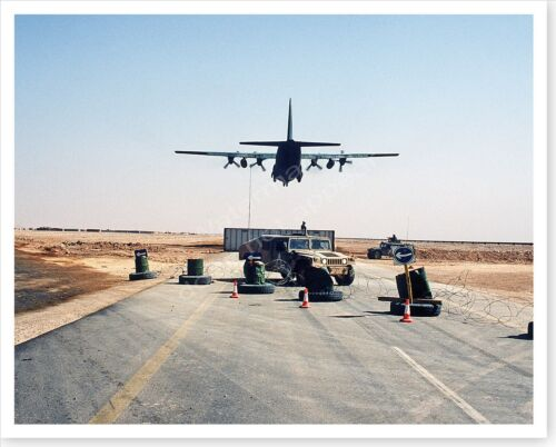 101st Airborne Division C-130 Hercules Operation Desert Storm 8 x 10 PhotoReproductions - 156449