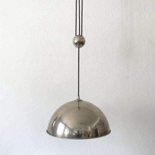 MODERNIST Counterweight PENDANT LAMP Hanging Light by FLORIAN SCHULZ | Ø 43 cm