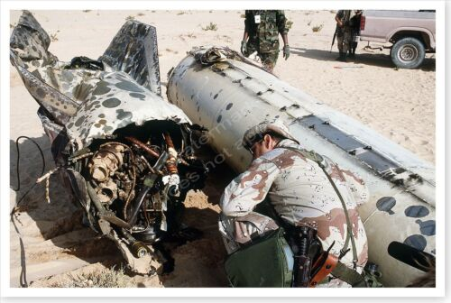 Iraqi Scud Missile Laying In Desert Operation Desert Storm 8 x 12 PhotoReproductions - 156449
