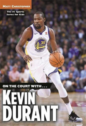 On the Court with...Kevin Durant by Matt Christopher Paperback Book Free Shippin