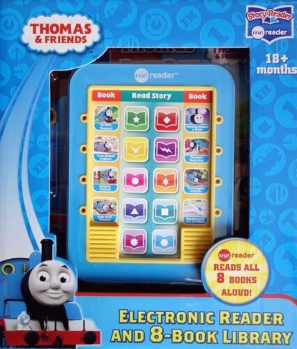 NEW Thomas Tank Engine & Friends Electronic Reader & 8 Books Read Aloud Library