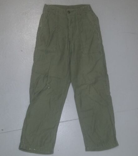 VIETNAM U.S. OG-107 PANTS COTTON SATEEN - GOOD USED CONDITION ISSUE US MADE Modern, Current - 36066