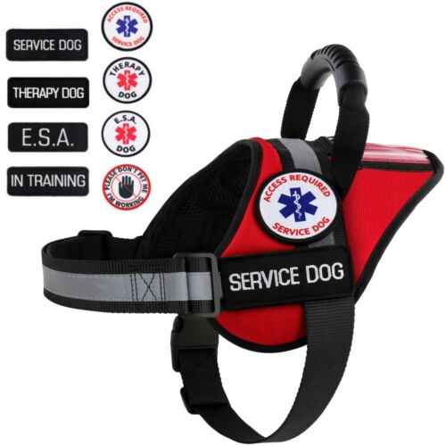 ALL ACCESS CANINE™ Service Dog - ESA Dog - Therapy Dog - Vest Waterproof Harness <br/> CHOOSE YOUR PATCHES - FREE SHIPPING - BRAND USA SELLER