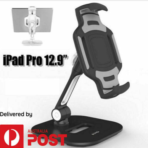 "Tablet Stand Holder For iPad Pro 12.9""  Fit iPad 1 2 3 4 Min Adjustable Mount"
