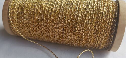 Vintage Gold Metallic Rococo Thread Nice Quality French