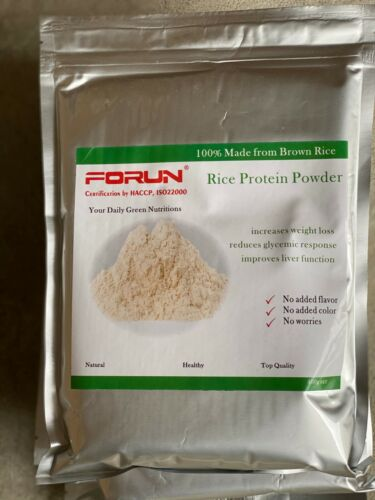 FORUN Pure Brown Rice Protein Powder 4KG (400G*10 BAGS)