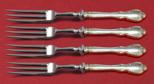"""Legato by Towle Sterling Silver Fruit Fork Set HHWS 4-Piece 6"""" Custom Made"""