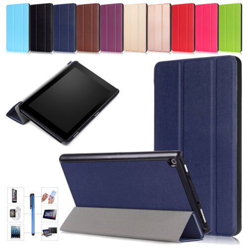 Smart PU Leather Magnetic Stand Case Cover For Amazon Kindle Fire 7 HD 10 8 2017