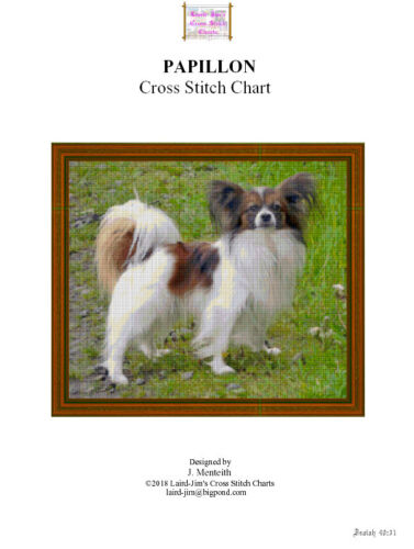 PAPILLON - CROSS STITCH CHART - PDF file