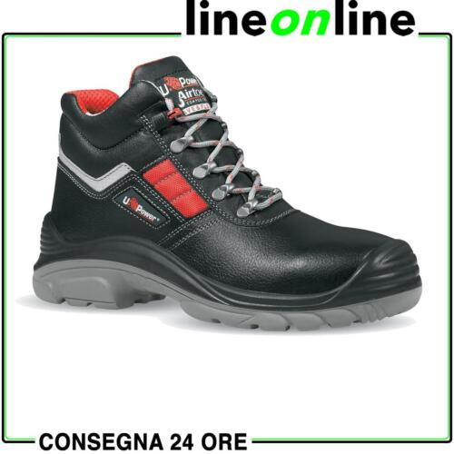 Scarpe da lavoro U-Power Devastate S3 SRC RS idrorepellenti e impermeabili pelle <br/> UPower Concept Plus - BEST PRICE