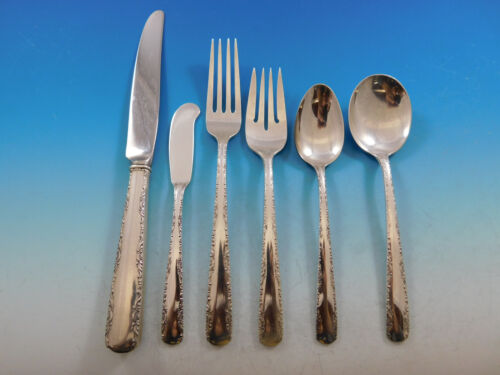 Camellia by Gorham Sterling Silver Flatware Set for 8 Service 48 Pieces